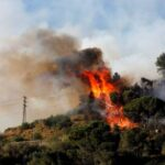 4th Martorell Forest Fire After 1989 One Accused Arrested